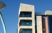 SSG Calcaire du Jura MAXBERG® jaune: façade Lapps Quay, Cork, Irlande
